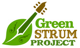 Green Strum Project Logo (CMYK print) 2